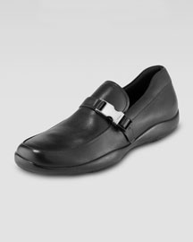 Buckled Loafer, Black