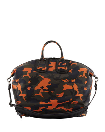Nightingale Men's Camo-Print Satchel Bag