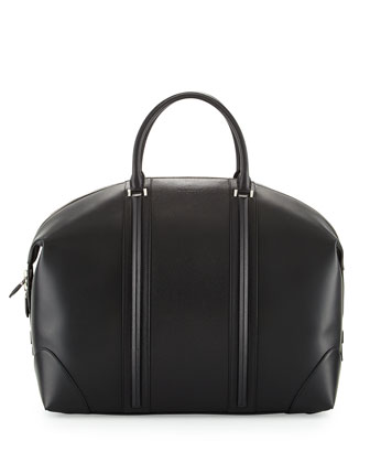 Men's L.C. Top-Handle Satchel Bag, Black