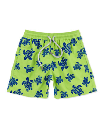 Turtle Boys' Jam Swim Trunks, Sizes 2-6