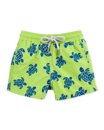 Turtle Boys' Jim Swim Trunk, Sizes 8-14