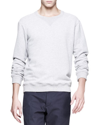 Crewneck Sweatshirt & Slim-Fit Trousers