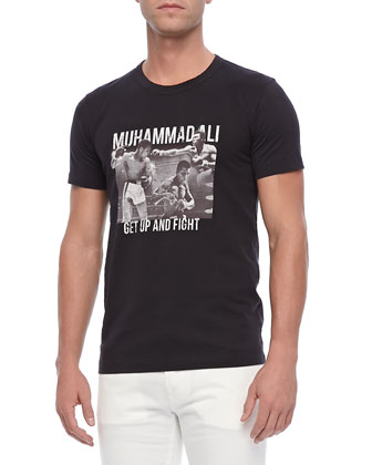 Muhammad Ali Short-Sleeve Tee, Black