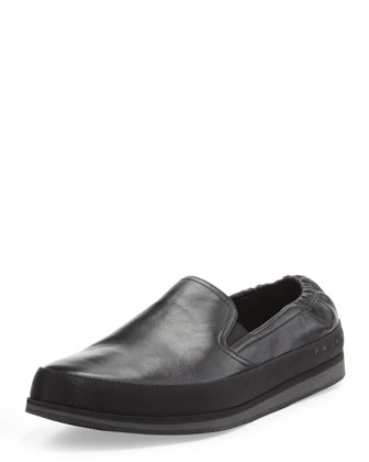 San Tropez Leather Slip-On Sneaker