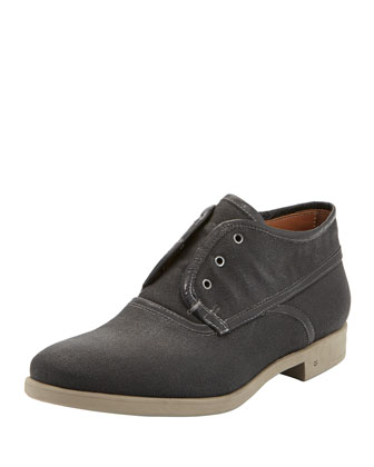 Dylan Laceless Chukka Boot, Gray