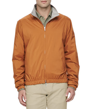 Windmate Reversible Bomber Jacket, Amber