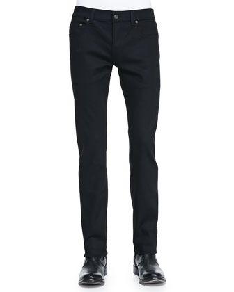 Stretch Slim-Fit Jeans, Black
