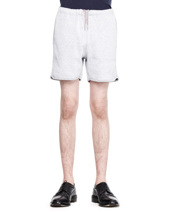 Cotton Drawstring Tennis Shorts