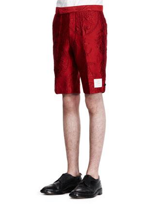 Tattoo Jacquard Bermuda Shorts