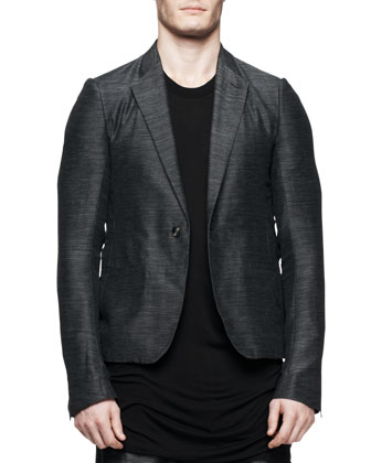 Soft Island Blazer, Black