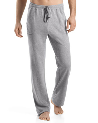 Robin French-Terry Lounge Pants, Gray