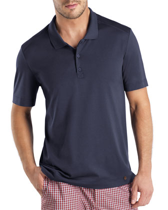 Night & Day Polo Shirt, Navy