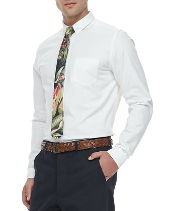 Button-Down Oxford Shirt, White