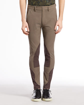 Equestrian Techno Riding Pants, Light Brown