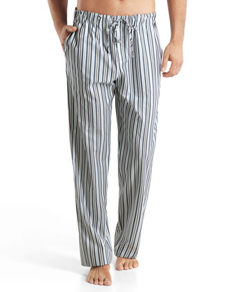 Tiago Striped Cotton Lounge Pants, Multi