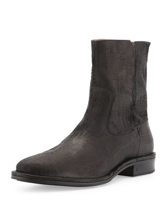 Mercer Plisse Zip Boot