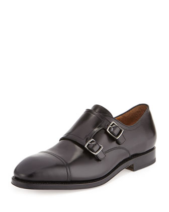 Duran Tramezza Cap-Toe Double-Monk