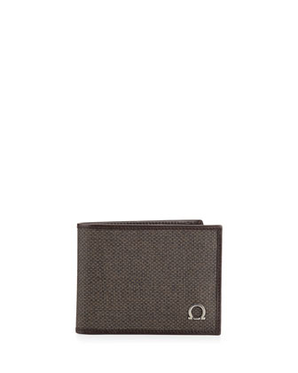 New Form Bifold Wallet, Brown