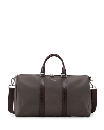 New Form Men's Duffel Bag, Brown