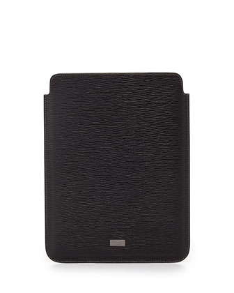 Revival Leather iPad Case, Black