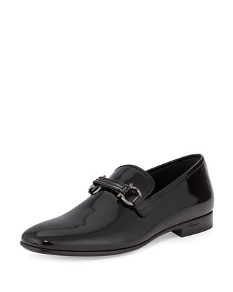 Party Patent Formal Loafer, Black