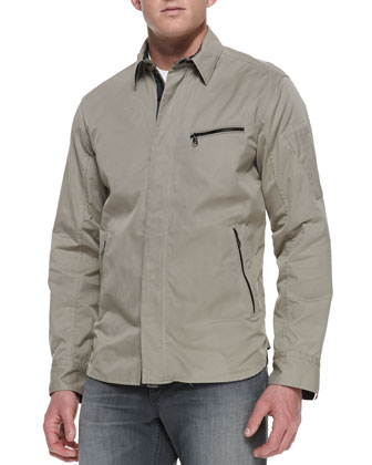 Hendon Utility-Shirt Jacket, Brown