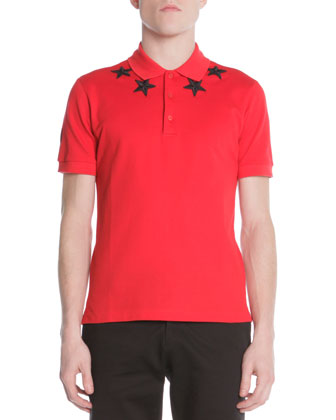 74 Star-Trim Polo, Red
