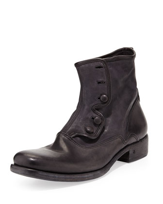 Bowery Button Boot, Black