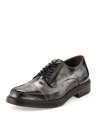 Patrick Metallic Derby Shoe
