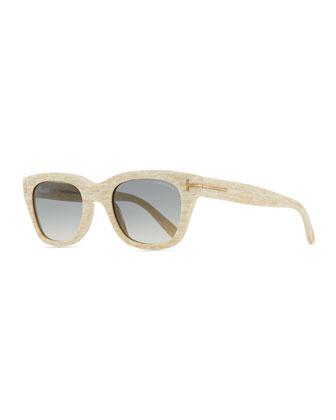 Snowdon Hollywood Sunglasses, White