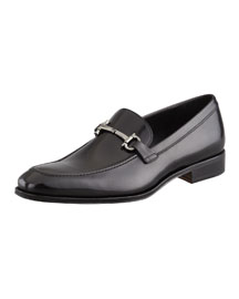 Fenice Gancini-Bit Loafer Black