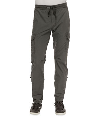 Weekend Cargo Pants, Heather Gray