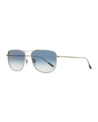 Shaefer 55 Photochromic Sunglasses, Silver