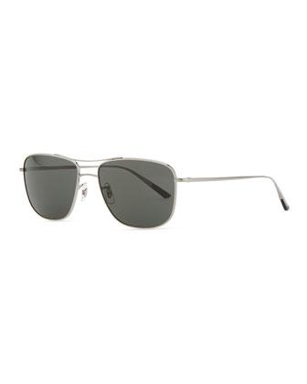 Shaefer 55 Polarized Sunglasses, Pewter
