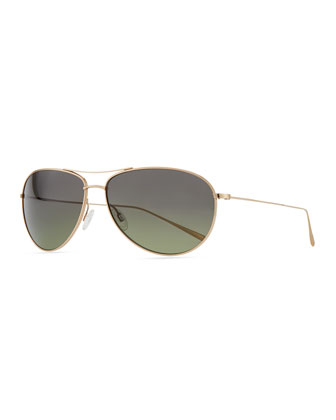 Tavener 61 Polarized Sunglasses, Gold