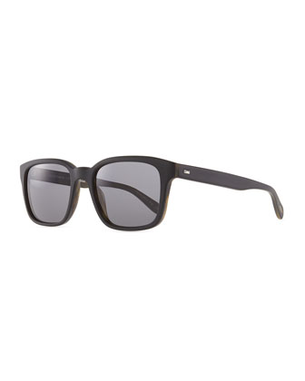 Wyler 54 Oversized Sunglasses, Brown