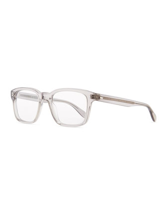 Wyler 54 Polarized Wide Optical Lenses Sunglasses, Gray