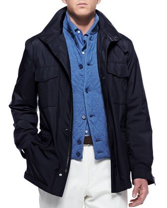 Traveler Windmate Storm System Jacket, Navy