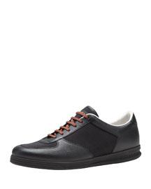 1984 Leather Low-Top Sneaker, Black