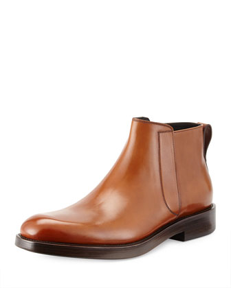 Poem Leather Chelsea Boot, Hazelnut