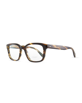 Wyler Men's Fashion Glasses, Brown