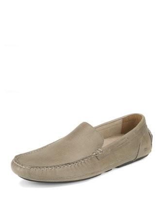 Empire Leather Loafer, Khaki