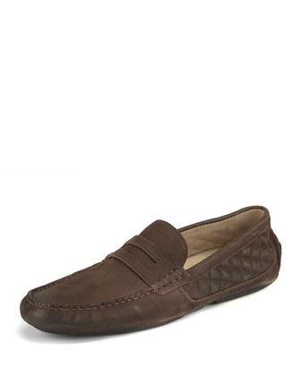 Metropolis Penny Loafer, Brown