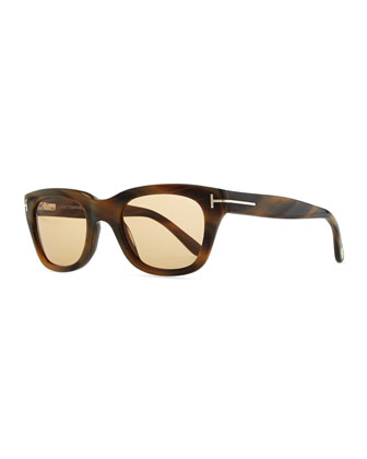 Snowdon Hollywood Sunglasses, Brown Tortoise