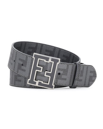 Zucca College Brown Belt, Dark Gray