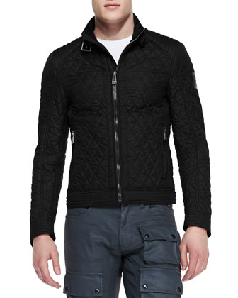 Bramley Quilted Jacket, Black