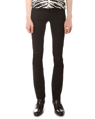 Stretch-Denim Jeans, Black