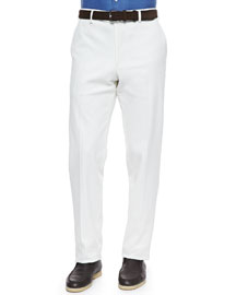 Diamond Straight-Leg Pants
