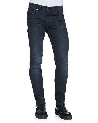 Ace Skinny Five-Pocket Jeans, Indigo