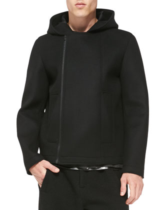 Light Neoprene Hooded Jacket